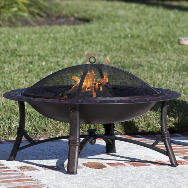 Roman Steel Wood Burning Fire Pit by Fire Sense