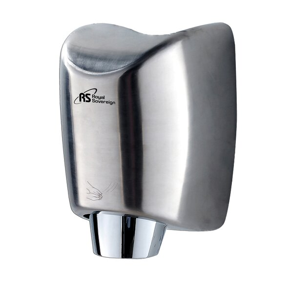 Hand Dryer in Stainless Steel by Royal Sovereign Int'l Inc