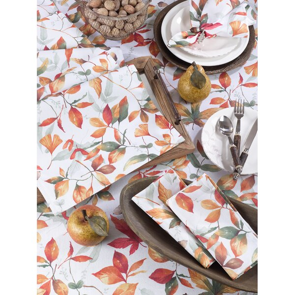 Lakeland Fall Leaf Table Runner by Winston Porter