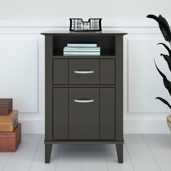 Myles 2-Drawer Vertical Filing Cabinet by Charlton Home