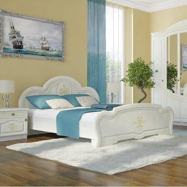 Melinda European Platform Bed with Mattress by Charlton Home