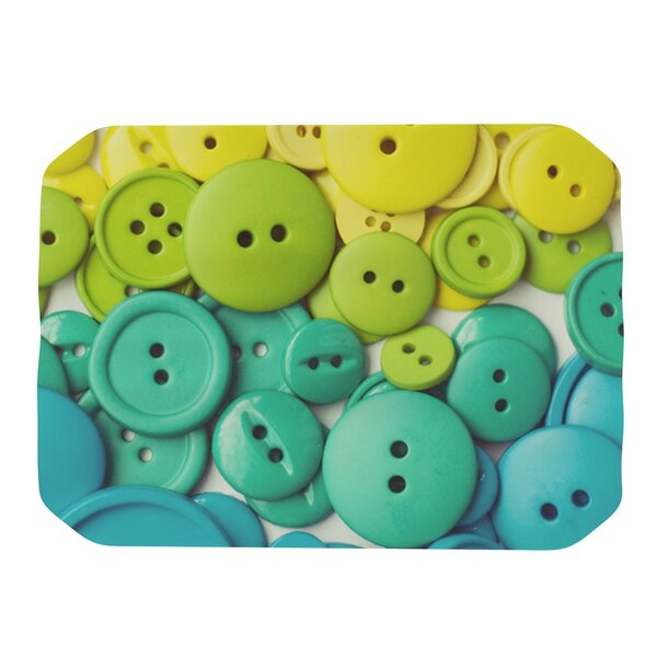 Cute As A Button Placemat by KESS InHouse