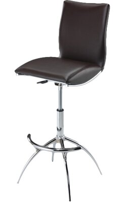 Adjustable Height Leather Bar Stools You Ll Love In 2019