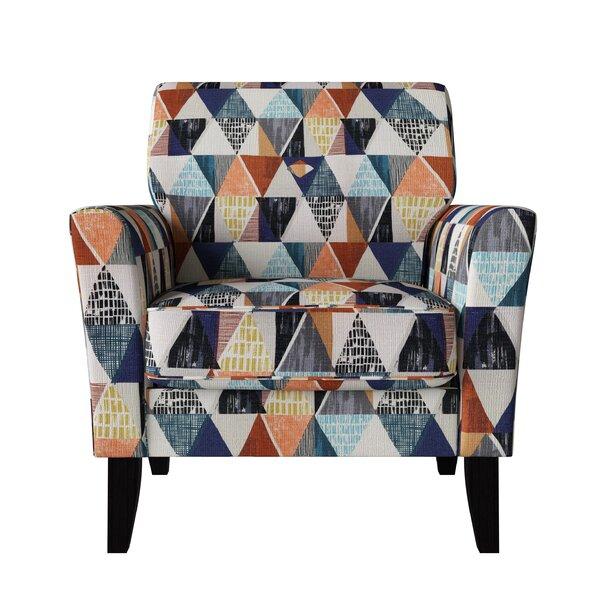 Salzmann 22-inch Armchair by Wrought Studio Wrought Studio