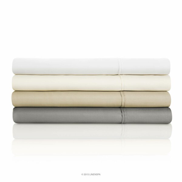 800 Thread Count Sheet Set by Linenspa