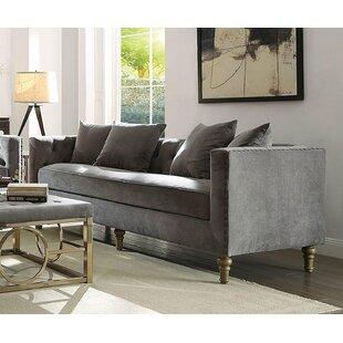 Fawke Cozy Elegant Sofa by Bungalow Rose