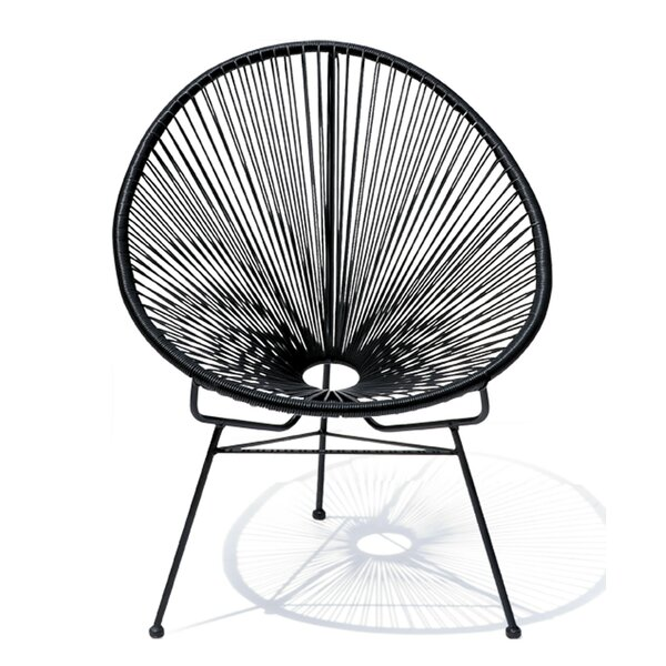 Meyerwood Wicker Patio Chair by Latitude Run