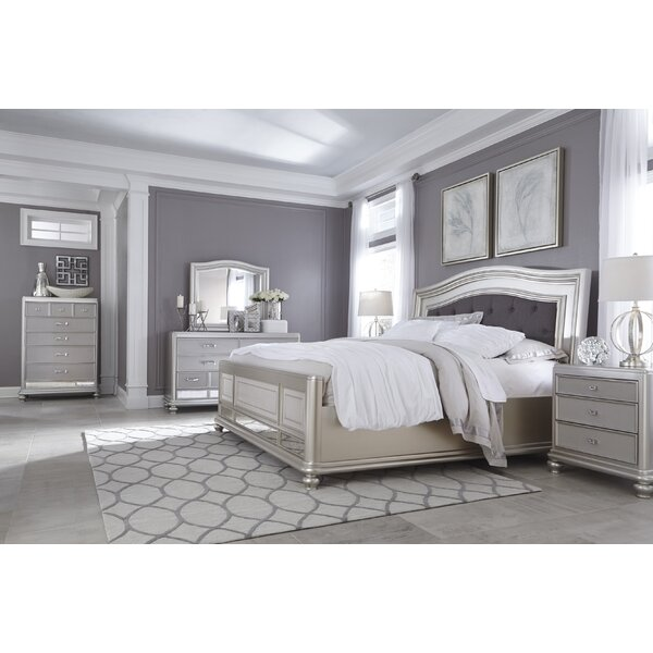 Guillaume Panel Configurable Solid Wood Bedroom Set by Willa Arlo Interiors