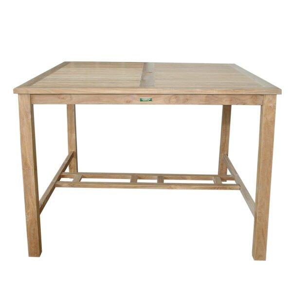Windsor Teak Bar Table by Anderson Teak
