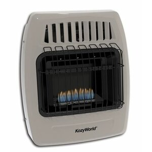 Kozy World 10,000 BTU Natural Gas Wall Heater