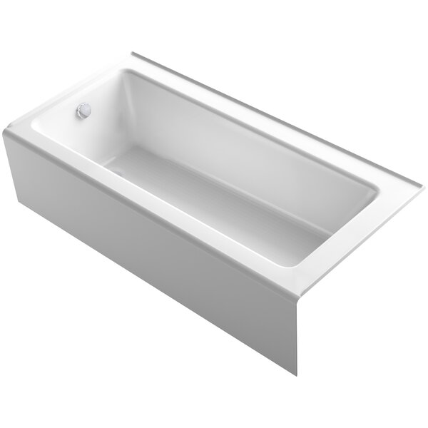 Bellwether Alcove 66 x 32 Soaking Bathtub by Kohler