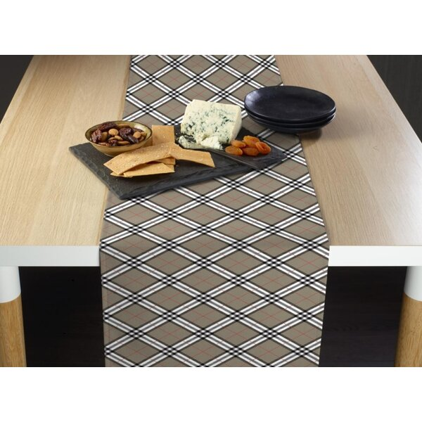 Imel Plaid Table Runner by Alcott Hill