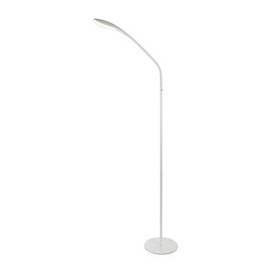 Ismail Adjustable 73 Led Torchiere Floor Lamp Reviews Allmodern