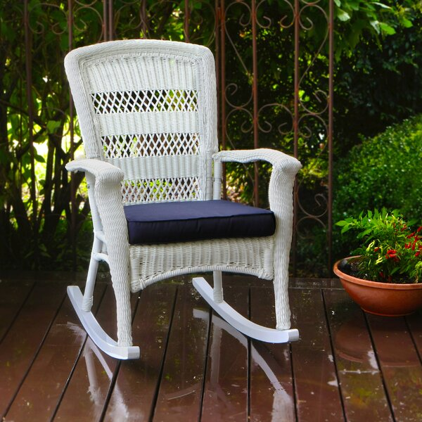 Ray Rocking Chair With Cushions By Alcott Hill by Alcott Hill Wonderful