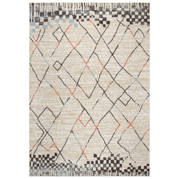 Kiley Ivory Area Rug by Ebern Designs