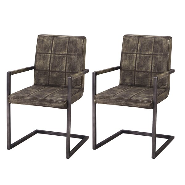 Alula Luxury Upholstered Dining Chair (Set of 2) by Orren Ellis