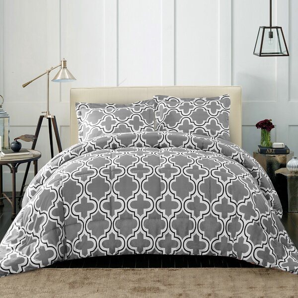 Elkton Polyester Comforter Set by Ebern Designs