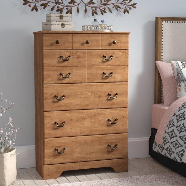 Yandell 5 Drawer Standard Dresser/Chest by August Grove