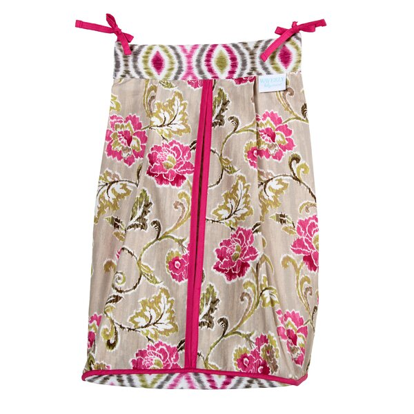 Waverly® Jazzberry Diaper Stacker by Trend Lab