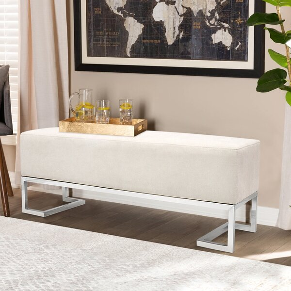 Upholstered Bench by Pasargad