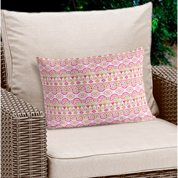 Cron Geometric Lumbar Pillow