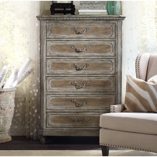 True Vintage 6 Drawer Lingerie Chest by Hooker Furniture