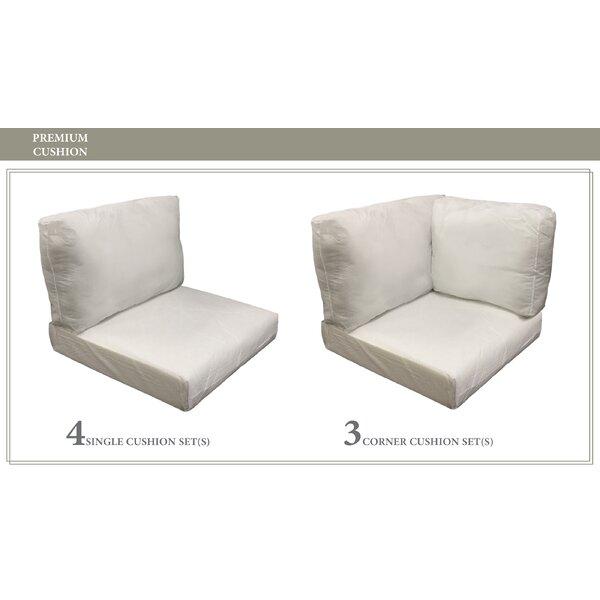 Capecod 17 Piece Outdoor Cushion Set by TK Classics TK Classics