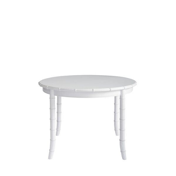 Viet Solid Wood Dining Table by Bayou Breeze