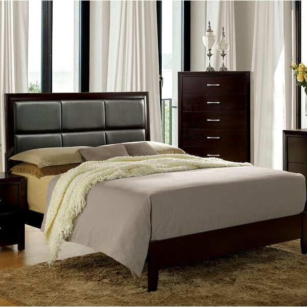 Kinzie Upholstered Standard Bed by Wrought Studio