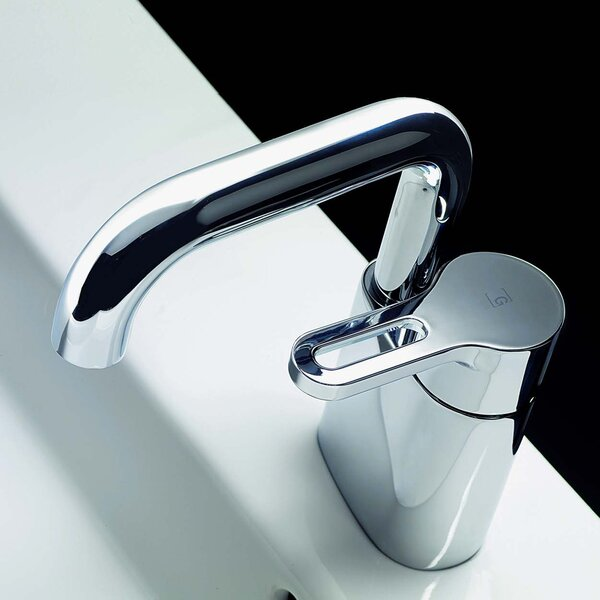 Cromo Single Hole Bathroom Faucet With By Bissonnet