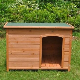 Mendell Pine Weatherproof Dog House by Tucker Murphy Pet