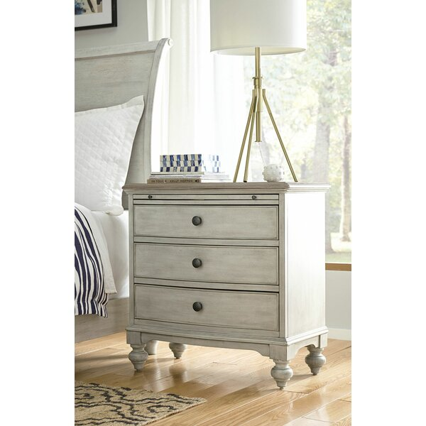 Ryleigh 3 Drawer Nightstand by One Allium Way