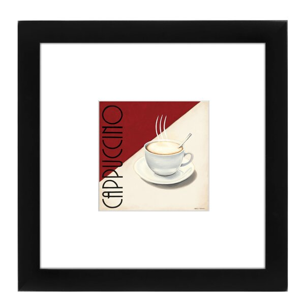 Cappuccino Framed Textual Art by East Urban Home