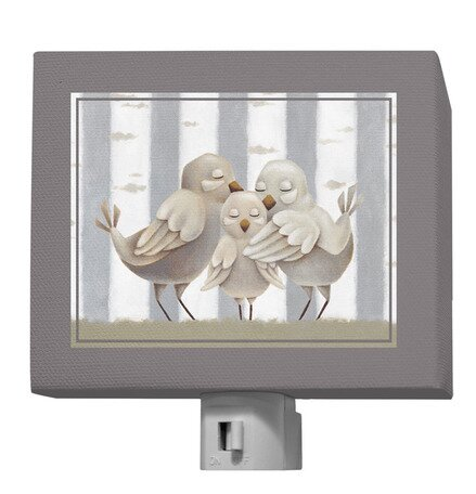 Forest Families - Birds Night Light by Oopsy Daisy