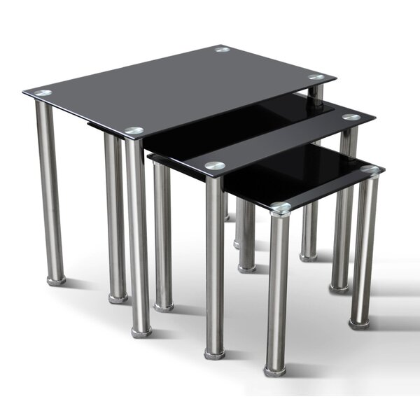 Blacfore 3 Piece Nesting Tables By Latitude Run
