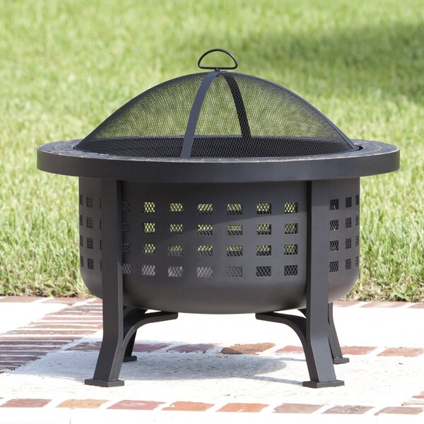 Alpina Steel Wood Burning Fire Pit by Fire Sense