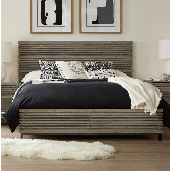Annex Footboard Upholstered Storage Panel Bed by Hooker Furniture