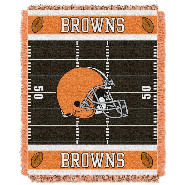 NFL Browns Field Baby Blanket by Northwest Co.