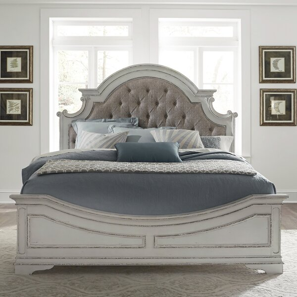 Treport Upholstered Standard Bed by One Allium Way