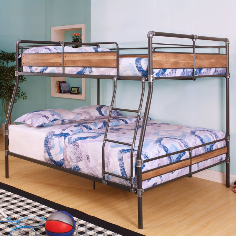Harriet Bee Eloy Full Over Queen Bunk Bed | Wayfair