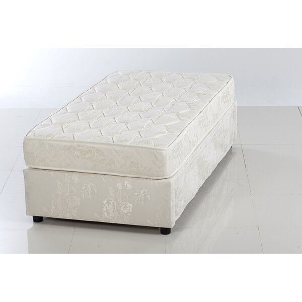 Flesher High Riser Space Saver Upholstered Platform Bed with Mattress by Arsuite