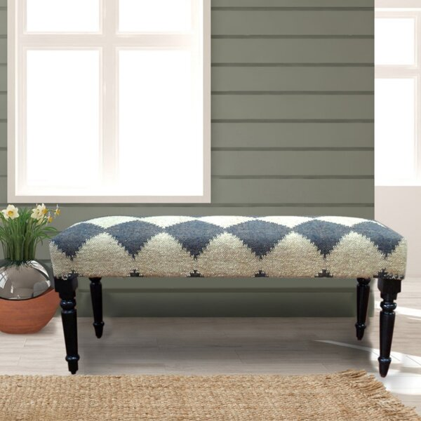 Covington Upholstered Bench by Gracie Oaks