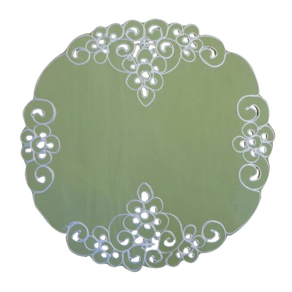 Genoa Round Placemat (Set of 4) by Charlton Home
