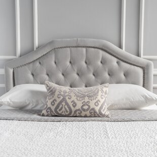 Inexpensive Bridges Upholstered Panel Headboard by Willa Arlo Interiors