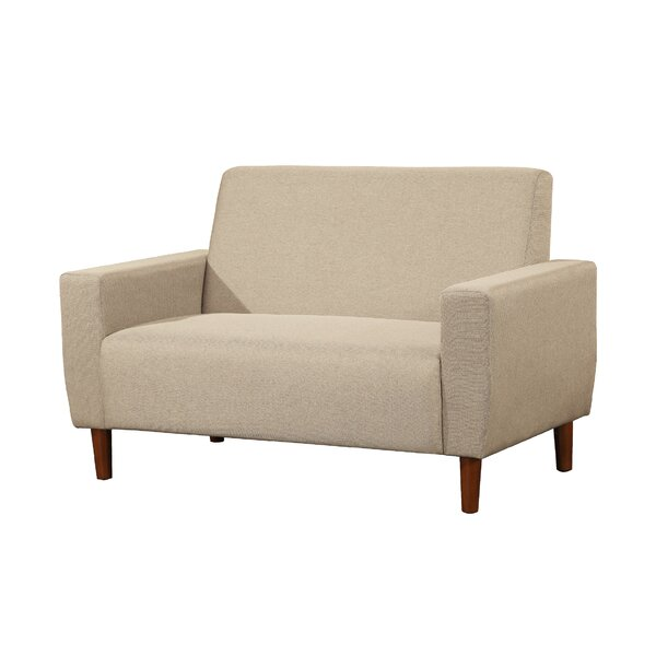 Falcon Contemporary Modern Living Room Loveseat by George Oliver