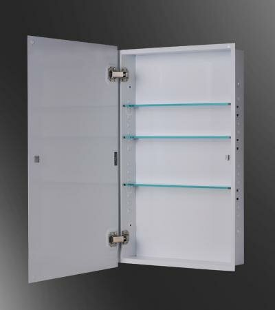 Zachariah 16 x 22 Recessed Medicine Cabinet by Ebern Designs