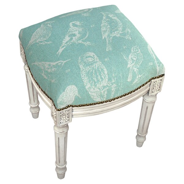 Bird Watch Accent Stool by 123 Creations