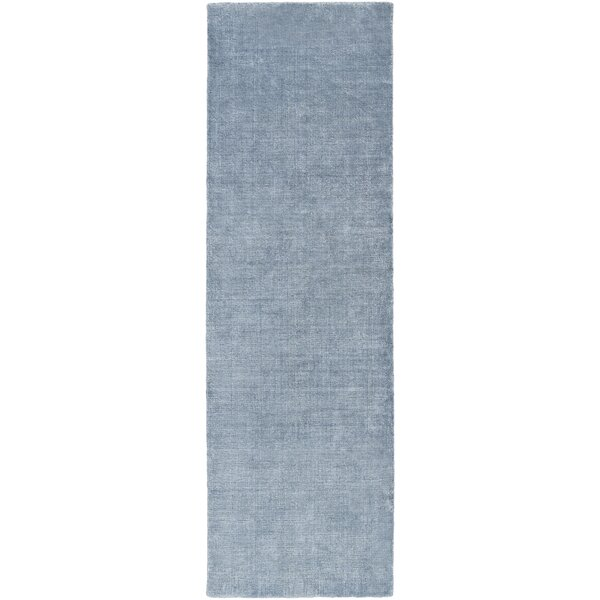 Racine Hand-Loomed Navy Area Rug by Darby Home Co