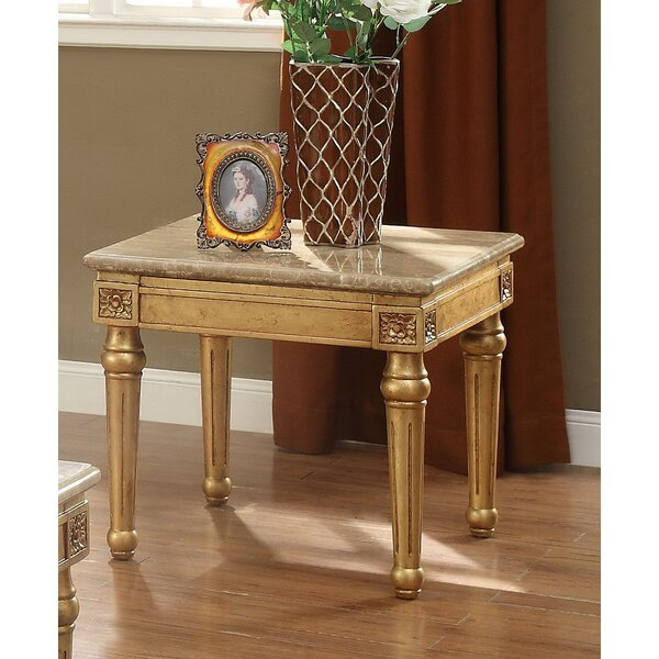 Robertson End Table by Fleur De Lis Living