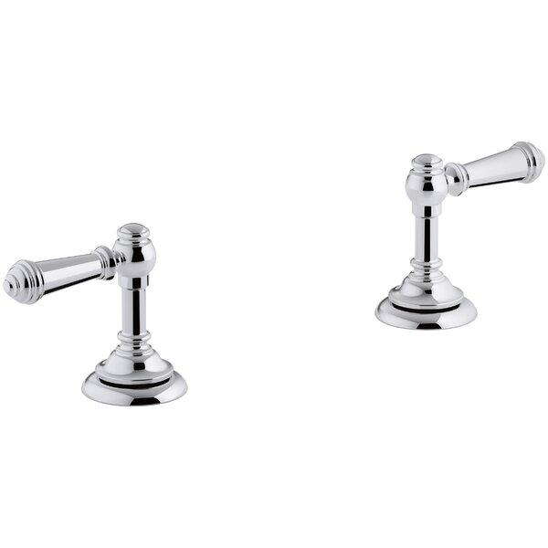 Artifacts Bathroom Sink Lever Handles by Kohler